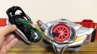 タイプネクスト!_ 専用音声あり!シグナルバイクをDXドライブドライバーとブレイクガンナーで音声確認レビュー!仮面ライダーマッハ.mp4 thumbnail