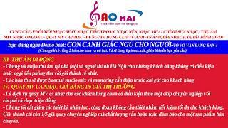 NHẠC BEAT CHÈO–CON CANH GIẤC NGỦ CHO NGƯỜI-TÒ VÒ-VĂN BẰNG-BẢN 4-KARAOKE KHÔNG LỜI BEAT
