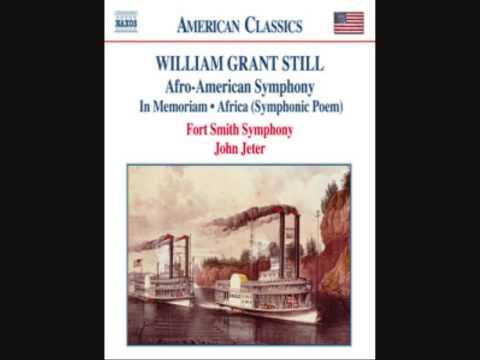 "Symphony No. 1, ""Afro-American"""