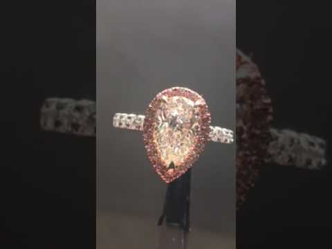 Could you love an M colored diamond? R7152 - YouTube
