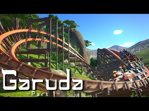 Planet Coaster - Garuda (Part 1) - Thai Hybrid Coaster Layout (ft. Rudi Rennkamel)