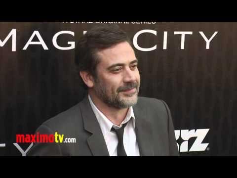 "Jeffrey Dean Morgan STARZ ""Magic City"" Los Angeles Premiere Arrivals"