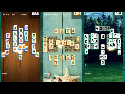 Mahjong classic match tiles keep you brain sharp