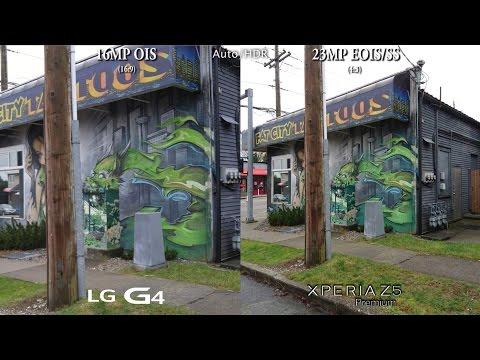 LG G4 vs Sony Xperia Z5 Premium - Camera...