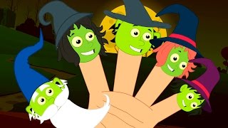 witches finger family | scary songs | nursery rhymes | kids rhymes | scary witches