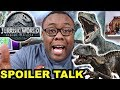 JURASSIC WORLD Fallen Kingdom Spoiler Talk and OMG THAT ENDING!