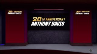 20th Anniversary Anthony Davis Pack Opening!!! Give Me Ray or Brow!!! Day 1