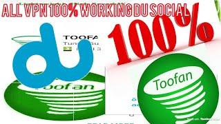 Toofan VPN Du Social Update Settings| Hindi Language Video 01/12/2017