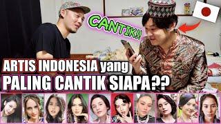 ORANG JEPANG MEMILIH ARTIS INDONESIA YANG PALING CANTIK!!