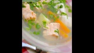 Диетический рыбный суп рецепт