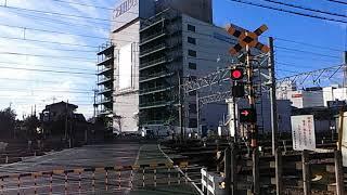 西武新宿・池袋線所沢駅付近の踏切