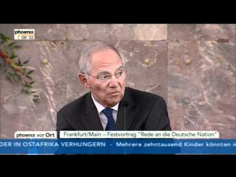 Wolfgang Schäuble: Rede an die Deutsche Nation