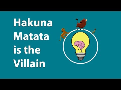 Hakuna Matata Is The Real Villain Of The Lion King Disney