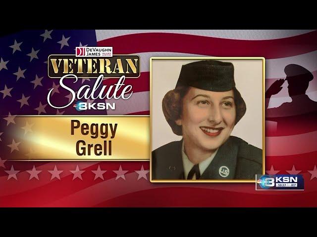 Veteran Salute: Peggy Grell