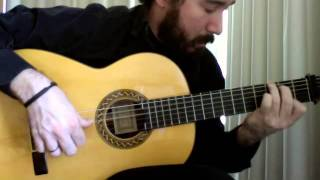 Flamenco Tremolo Exercise - 5 (Taranta by Paco de Lucia)