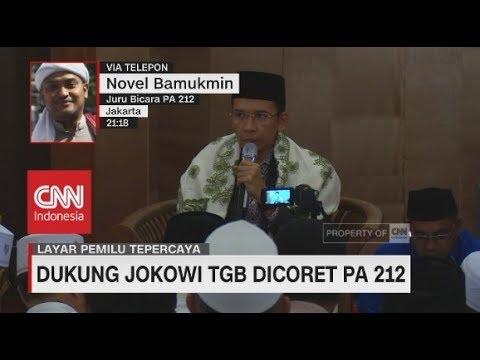 Jubir PA 212 : TGB Dukung Jokowi Karena Tersandera Kasus Pidana
