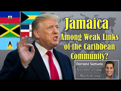 Donald Trump Tries To Divide Caricom | RIP Dorraine Samuels