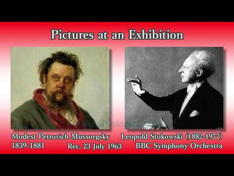 Mussorgsky: Pictures at an Exhibition, Stokowski & BBCso (1963) ムソルグスキー「展覧会の絵」ストコフスキー