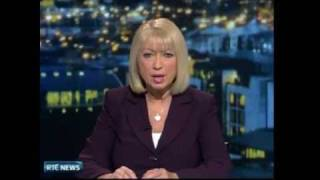 RTE News - Meteor Sighting Over IRELAND 03/02/2010