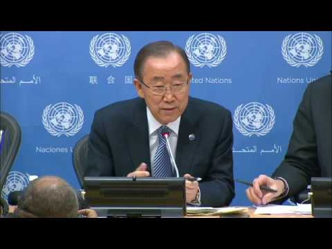 Ban Ki-moon (UN Secretary-General) - End-of-Term Press Conference (16 December 2016)