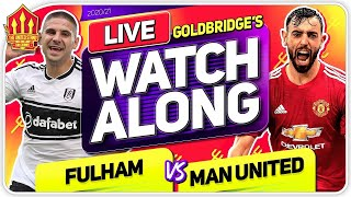 FULHAM vs MANCHESTER UNITED With Mark GOLDBRIDGE LIVE