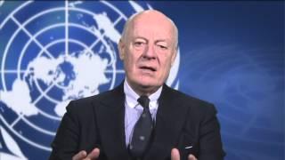 دي ميستورا للسوريين: لا يمكن لمفاوضات جنيف أن تفشل