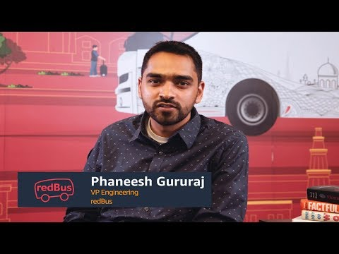 How redBus Uses Amazon SageMaker to Reduce the Time-to-Market