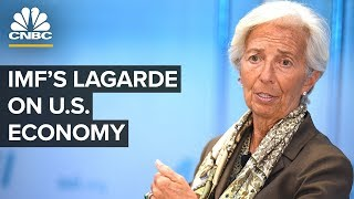 Christine Lagarde shares IMF's review of US economy - 06/06/2019