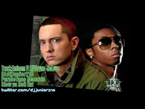 Eminem Ft LilWayne -No Love (Chopped N Screwed