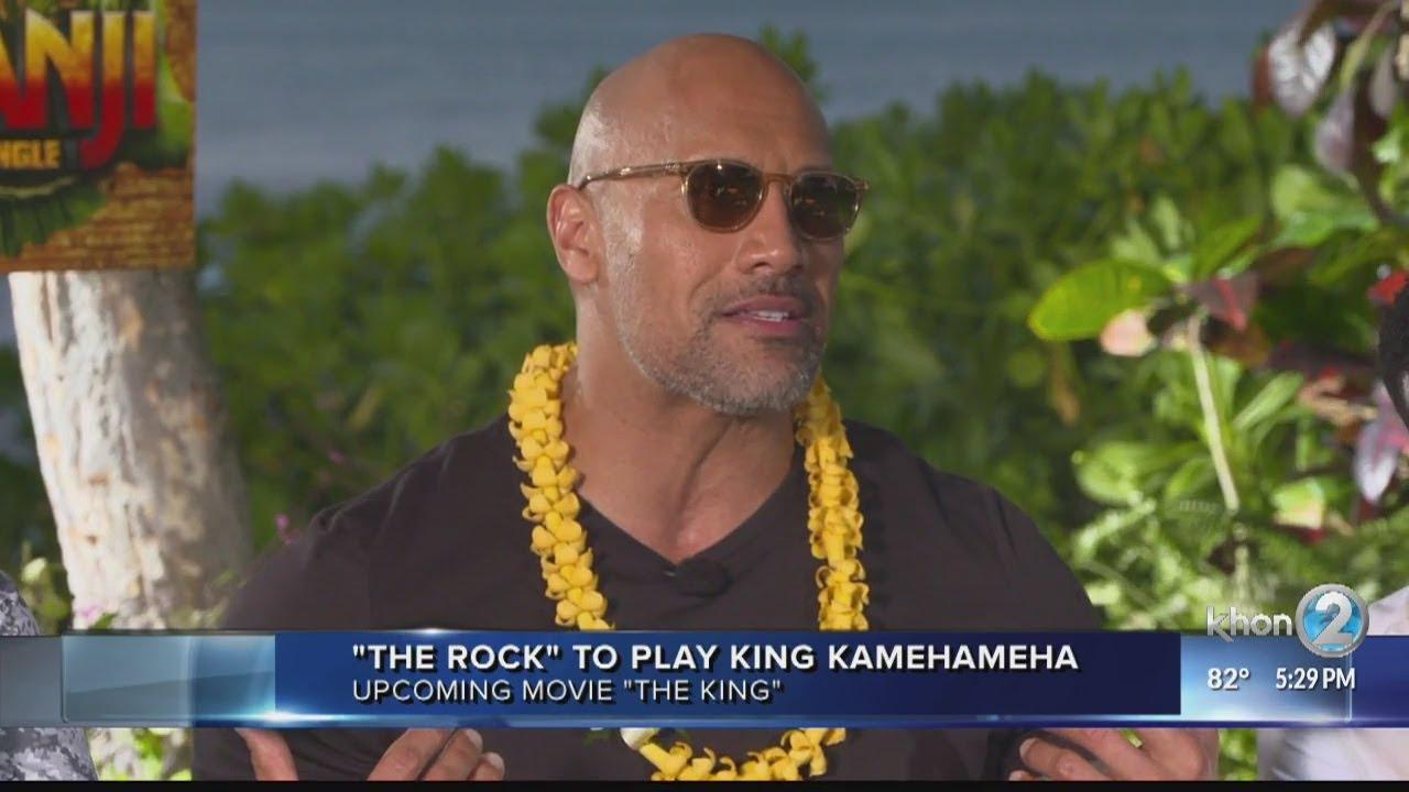 Dwayne 'The Rock' Johnson announces 'dream' role of King Kamehameha