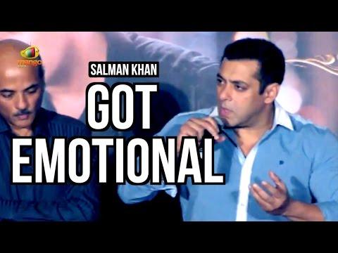 Salman Khan Gets Emotional Talking About Sooraj Barjatya | Prem Ratan Dhan Payo Trailer Launch