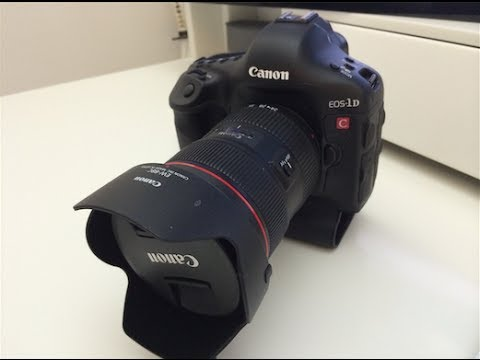 Canon 4k Video Camera >> Canon EOS 1DC 4K DSLR Unboxing & First Look - YouTube
