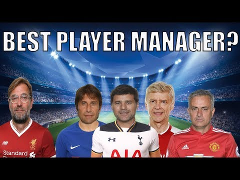 What Happens If You Turn Jose Mourinho & Arsene Wenger Into Player Managers? FM18 Experiment
