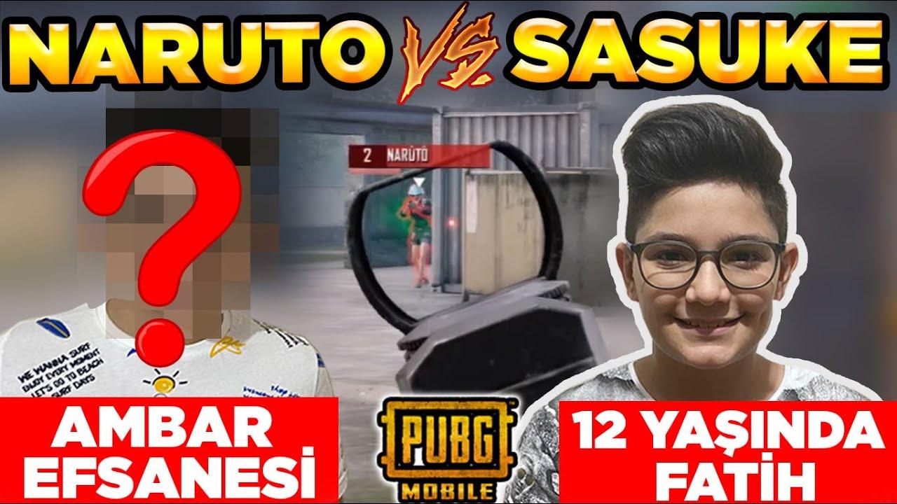 ÇOK BEKLENEN VS! AMBAR EFSANESİ NARUTO vs 12 YAŞINDA FATİH SASUKE!