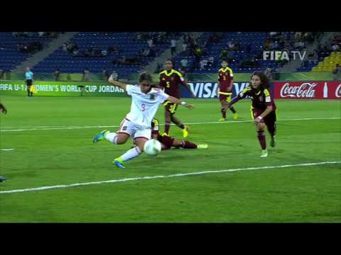 Match 31: Venezuela v Spain - FIFA Women's U17 World Cup Jordan 2016