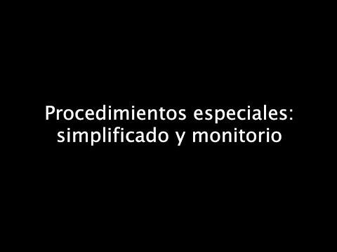 procedimientos-especiales:-simplificado-y-monitorio