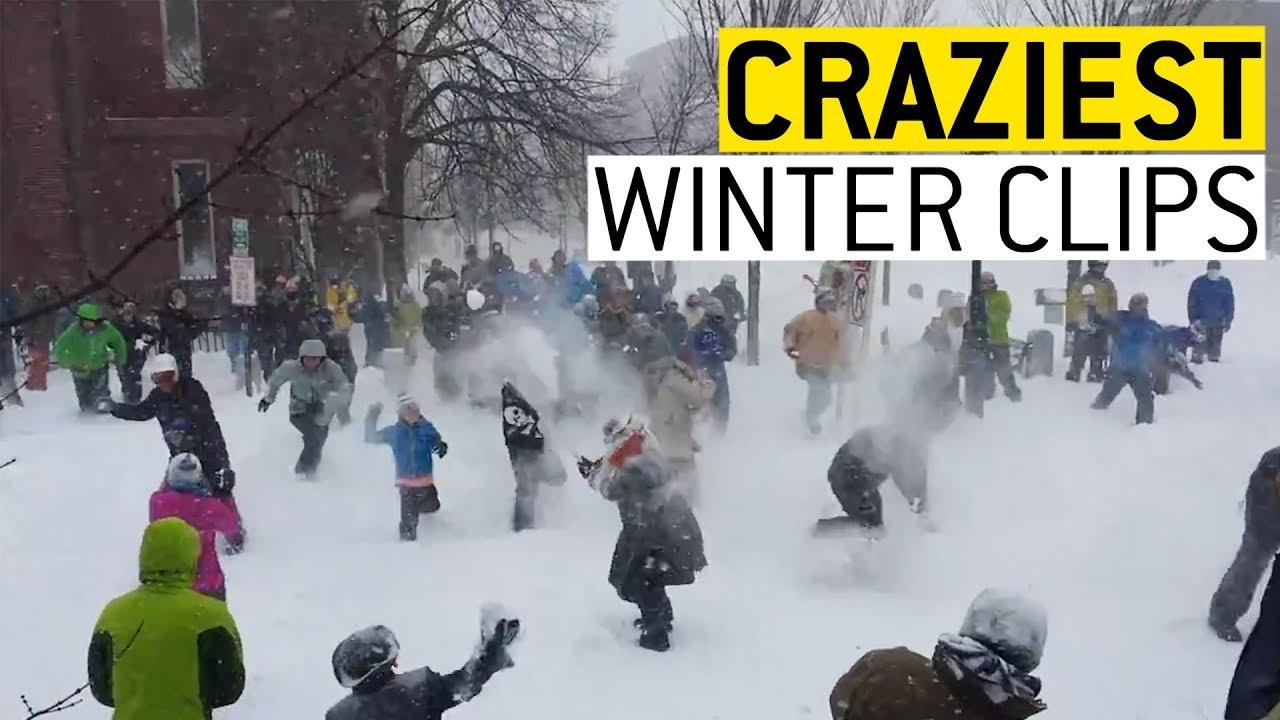 Crazy Winter Clips || JukinVideo