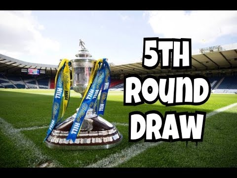 SCOTTISH CUP 5th ROUND DRAW 2017/18 MY THOUGHTS