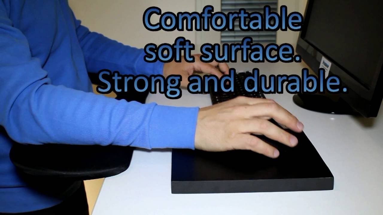 b08ae17560b Ergonomic mouse pad and carpal tunnel mouse - YouTube