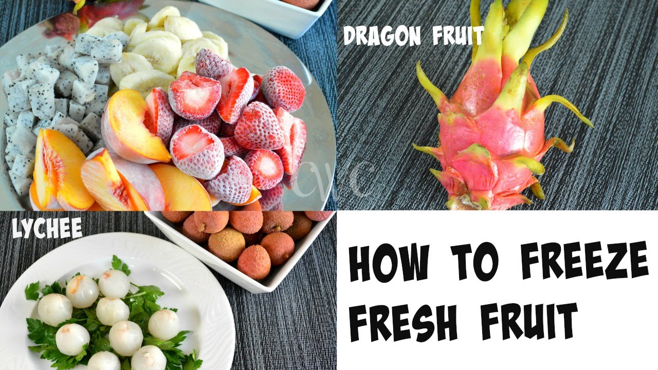how to prepare fresh vegetables for freezing