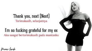 Ariana Grande - Thank u, next | Lyrics dan terjemahan Indonesia