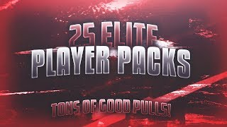 25 ELITE PLAYER PACKS IN ONE VIDEO! GREAT PULLS! OVER 3 MILL MADE! Madden Overdrive