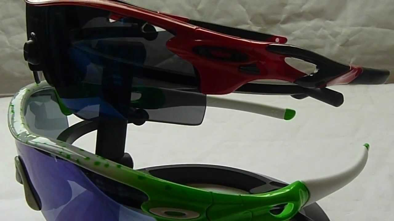 4af1f3cf14d Oakley Radar versus Oakley Radarlock - YouTube