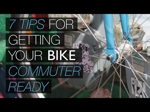7 tips for getting your bike commuter-ready