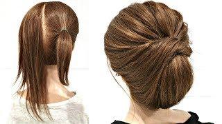 20 ПРОСТЫХ ПРИЧЕСОК НА КОРОТКИЕ ВОЛОСЫ ИЗ РЕЗИНОК. 20 simple hairstyles for short hair from elastic