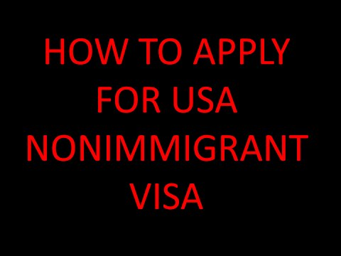 HOW TO APPLY FOR US VISITOR/TOURIST VISA?