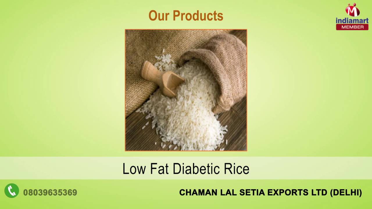 Diabetic Rice, शुगर फ्री चावल - View Specifications