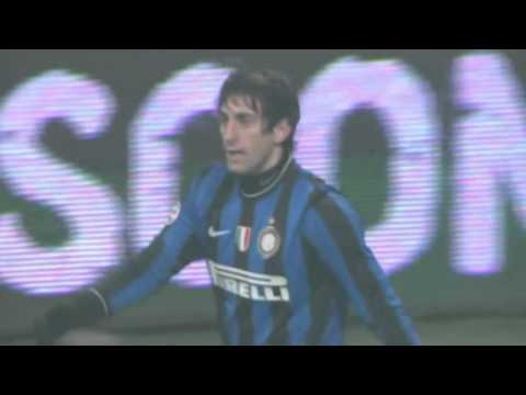INTER-MILAN 2-0 - Gol di DIEGO MILITO - Radiocronaca di Francesco Repice (24/1/2010) Radio Rai