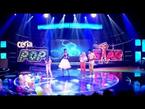 Ceria Popstar -  Atilia, Trisya, Leen & Hairul - Kekanda Adinda
