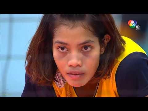 วอลเลย์บอลแชมป์กีฬา 7 สี 2015 ม รัตนบัณฑิต vs ม ตอ เฉียงเหนือ 1 3